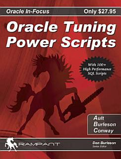 Oracle Tuning Power Scripts Book