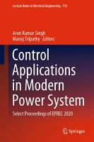 Control Applications in Modern Power System PDF