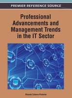 Professional Advancements and Management Trends in the IT Sector PDF