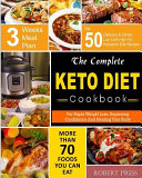 The Complete Keto Diet Cookbook Book PDF