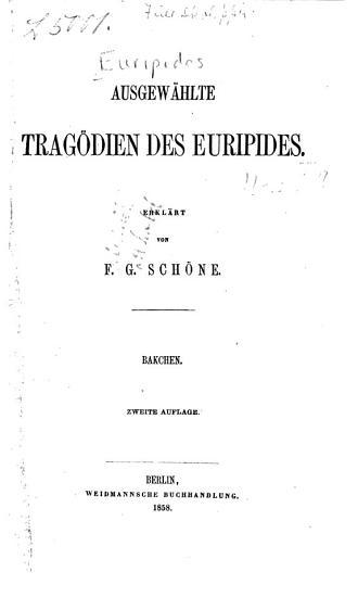 Bakchen PDF