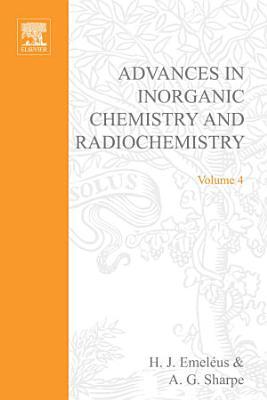 Advances in Inorganic Chemistry and Radiochemistry PDF