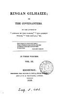 Ringan Gilhaize  or  The Covenanters  by the author of  Annals of the parish   PDF