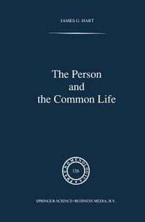 The Person and the Common Life Book
