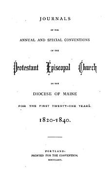 Journal of the     Annual Convention  Diocese of Maine PDF