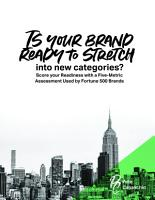 Is Your Brand Ready to Stretch into New Categories  PDF