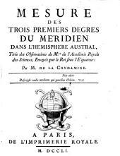 Journal du voyage fait ... a l'Equateur servant d'introduction hist. a la mesure des trois premiers degres du Meridien: Volume2