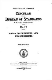 Radio instruments and measurements