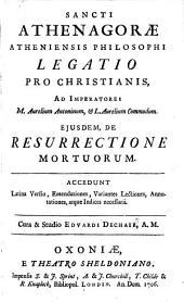 Legatio pro Christianis