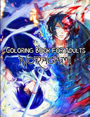 Noragami Coloring Book for Adults