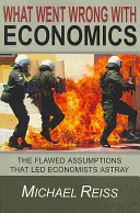 What Went Wrong With Economics PDF