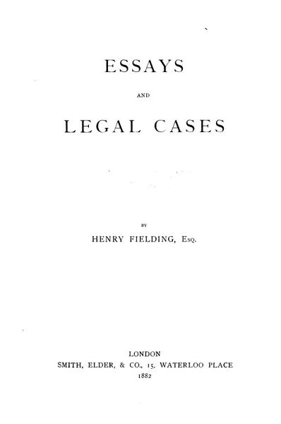 Download The Works of Henry Fielding  Esq Book