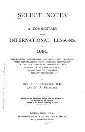 Select Notes: A Commentary on the International Lessons, Volume 17