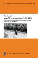 Irans F  hrungsanspruch  1979   2013  PDF