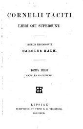 Libri qui supersunt: Annales. 1