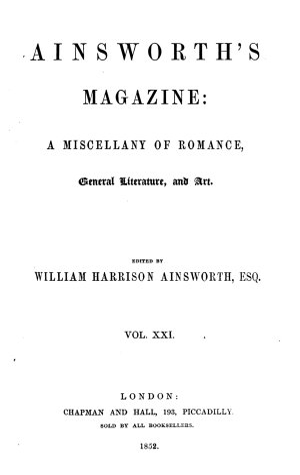 Ainsworth s magazine