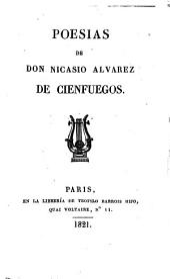Poesías de don Nicasio Alvarez de Cienfuegos