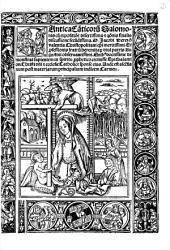 Cantica Ca[n]ticoru[m] Salomonis