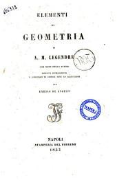 Elementi di geometria di A. M. Legendre
