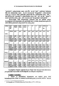 IV Uluslararas   Tu rk Dili Kurultay   bildirileri PDF
