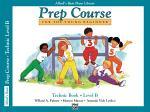 Alfred's Basic Piano Prep Course - Technic Book B