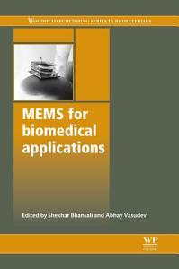 Mems for Biomedical Applications PDF