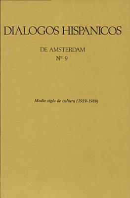 Medio siglo de cultura  1939 1989
