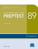 The Official LSAT PrepTest 89