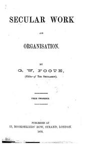 Secular Work and Organisation