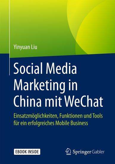 Social Media Marketing in China mit WeChat PDF