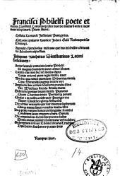Francisci Philelfi poete et oratoris Clarissimi Conuiuio[rum] libri duo: de multaru[m] ortu [et] incremento disciplinaru[m]. Plane Aurei
