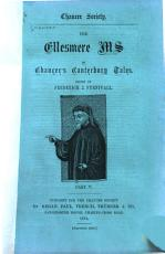 The Ellesmere Ms  of Chaucer s Canterbury Tales PDF