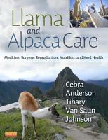 Llama and Alpaca Care   E Book PDF