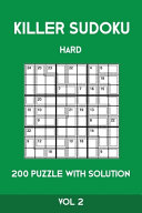 Killer Sudoku Hard 200 Puzzle With Solution Vol 2