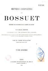 Oeuvres complètes de Bossuet