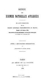 Revue des sciences naturelles appliquées: bulletin bimensuel de la Société nationale d'acclimatation de France, Volume41,Numéro2