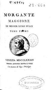 Morgante maggiore: Volumi 1-3