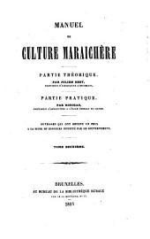 Manuel de culture maraichère