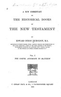A New Commentary on the Historical Books of the New Testament PDF