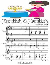 Hannukah O Hannukah - Beginner Tots Piano Sheet Music