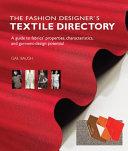 The Fashion Designer s Textile Directory
