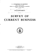 Statistical Supplement to the Survey of Current Business PDF