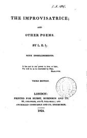 The improvisatrice; and other poems, by L.E.L.