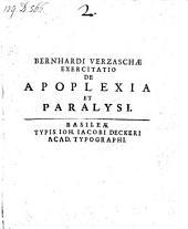 De apoplexia et paralysi