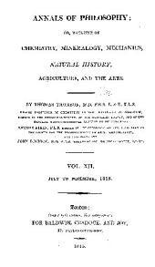 Annals of Philosophy: Volume 12