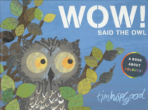 Wow  Said the Owl Book