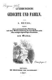Luxemburgische Gedichte und Fabeln