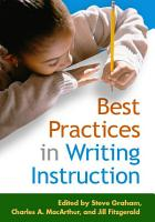 Best Practices in Writing Instruction PDF
