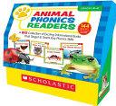 Animal Phonics Readers Book