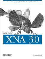 Learning XNA 3 0 PDF
